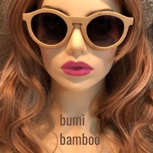 NWOT bumi eyewear bamboo Sunglasses environment